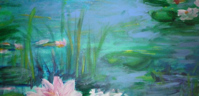 Acryl Blumen
